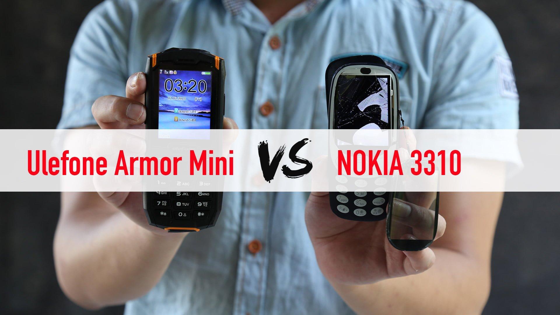 Tak się pokonuje legendę - Ulefone Armor Mini vs Nokia 3310 28