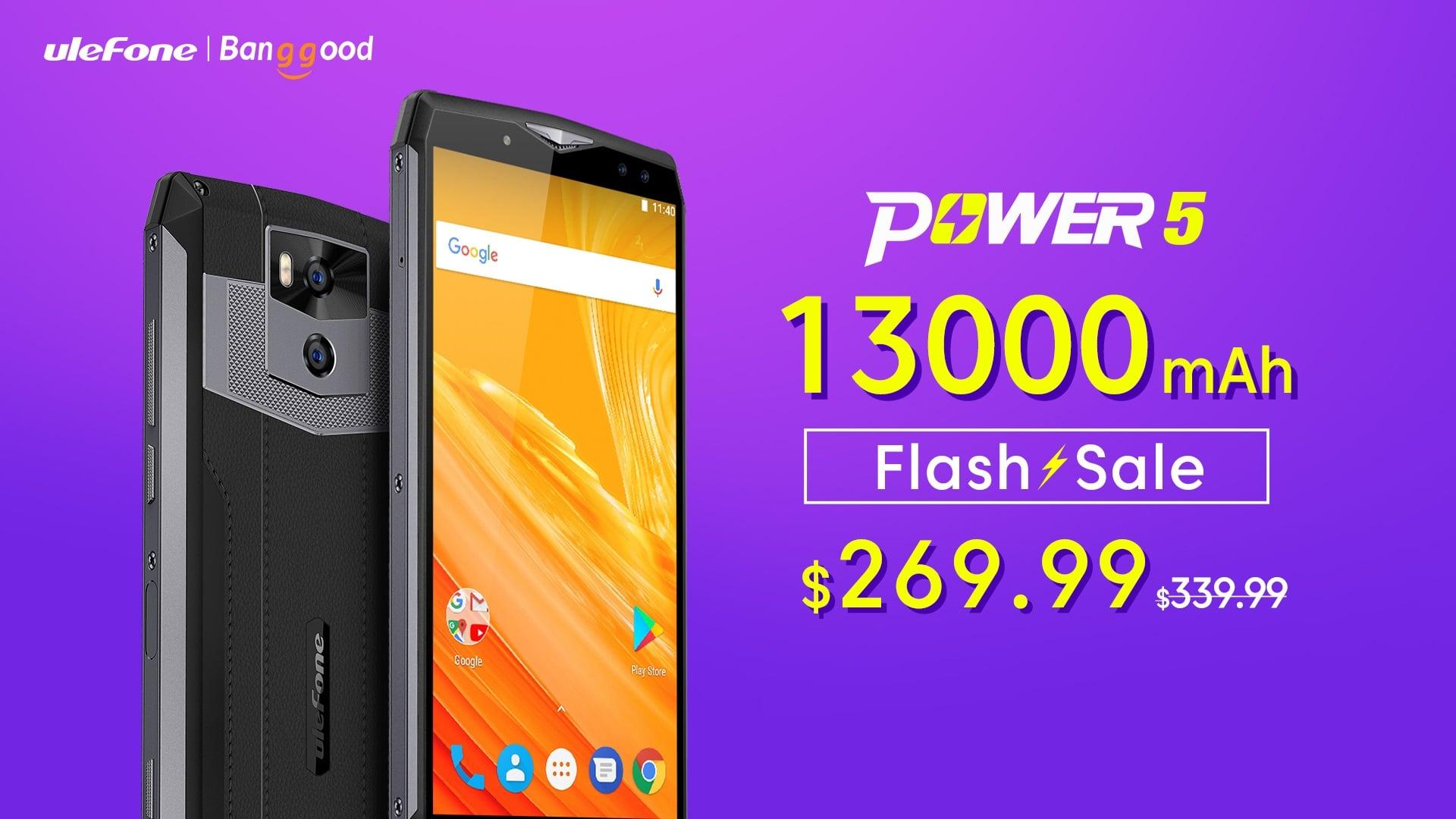 Taka okazja może się nie powtórzyć - Ulefone Power 5 tylko teraz tańszy o 70 dolarów 29