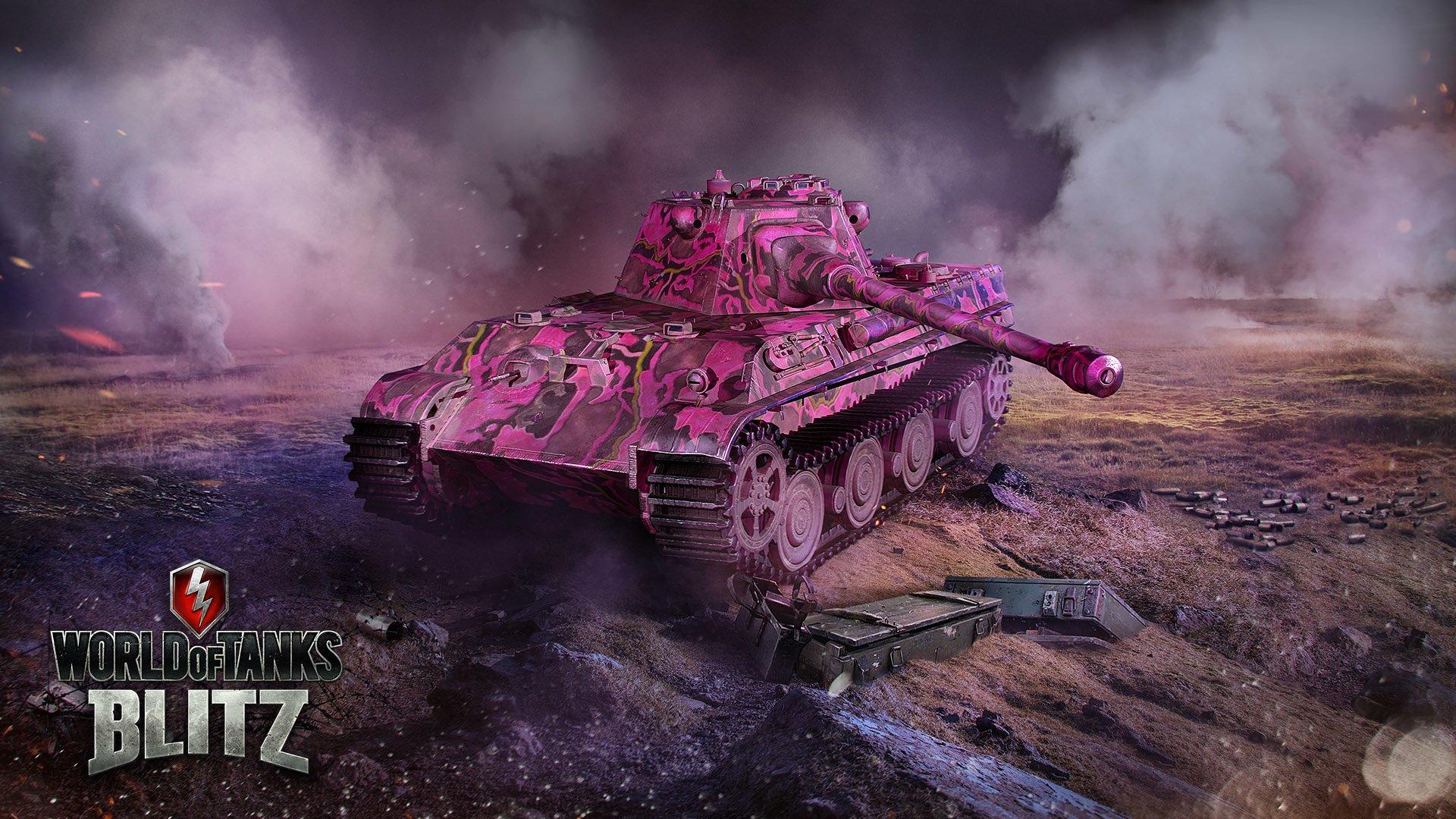Daj się zauważyć na drodze, czyli Dzień Różowej Pantery w World of Tanks Blitz 33