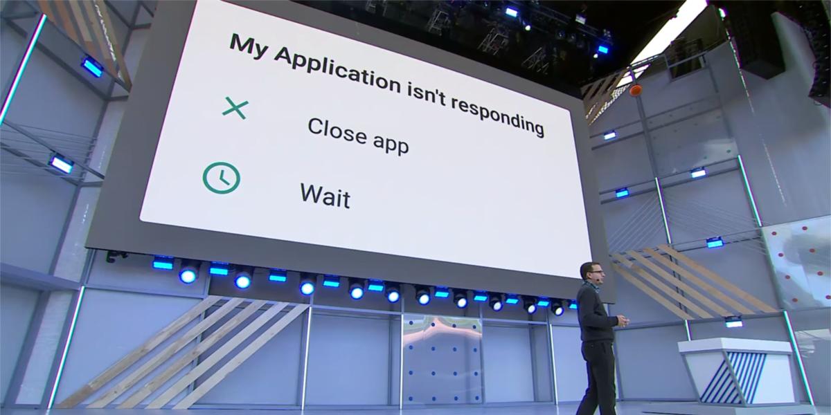 Android P nie powie Ci, że aplikacja nie reaguje. Po prostu ją wyłączy 24