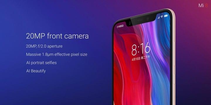 Tym Chińczycy chcą podbić świat: Xiaomi Mi 8 nowym flagowcem firmy, a Mi 8 Explore Edition - jego ultranowoczesną wersją 22
