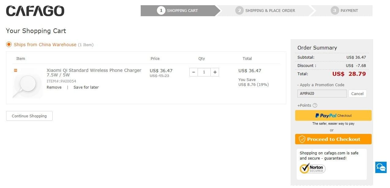 Tabletowo.pl Promocja: Bezprzewodowa ładowarka Xiaomi w dobrej cenie. Nadaje się do ładowania Samsungów i iPhone'ów Akcesoria Promocje Xiaomi
