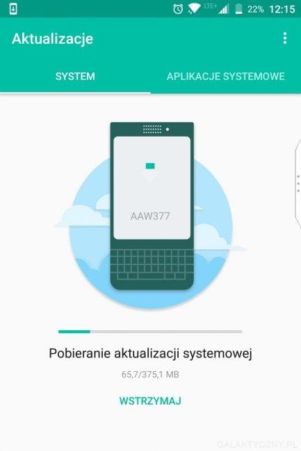 Jeżynka pamięta o swoich użytkownikach. BlackBerry KEYone otrzymał majowe poprawki zabezpieczeń 21