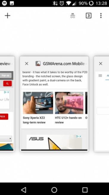 Tabletowo.pl Google Chrome może dostać nieco zmieniony interfejs Android Aplikacje Google