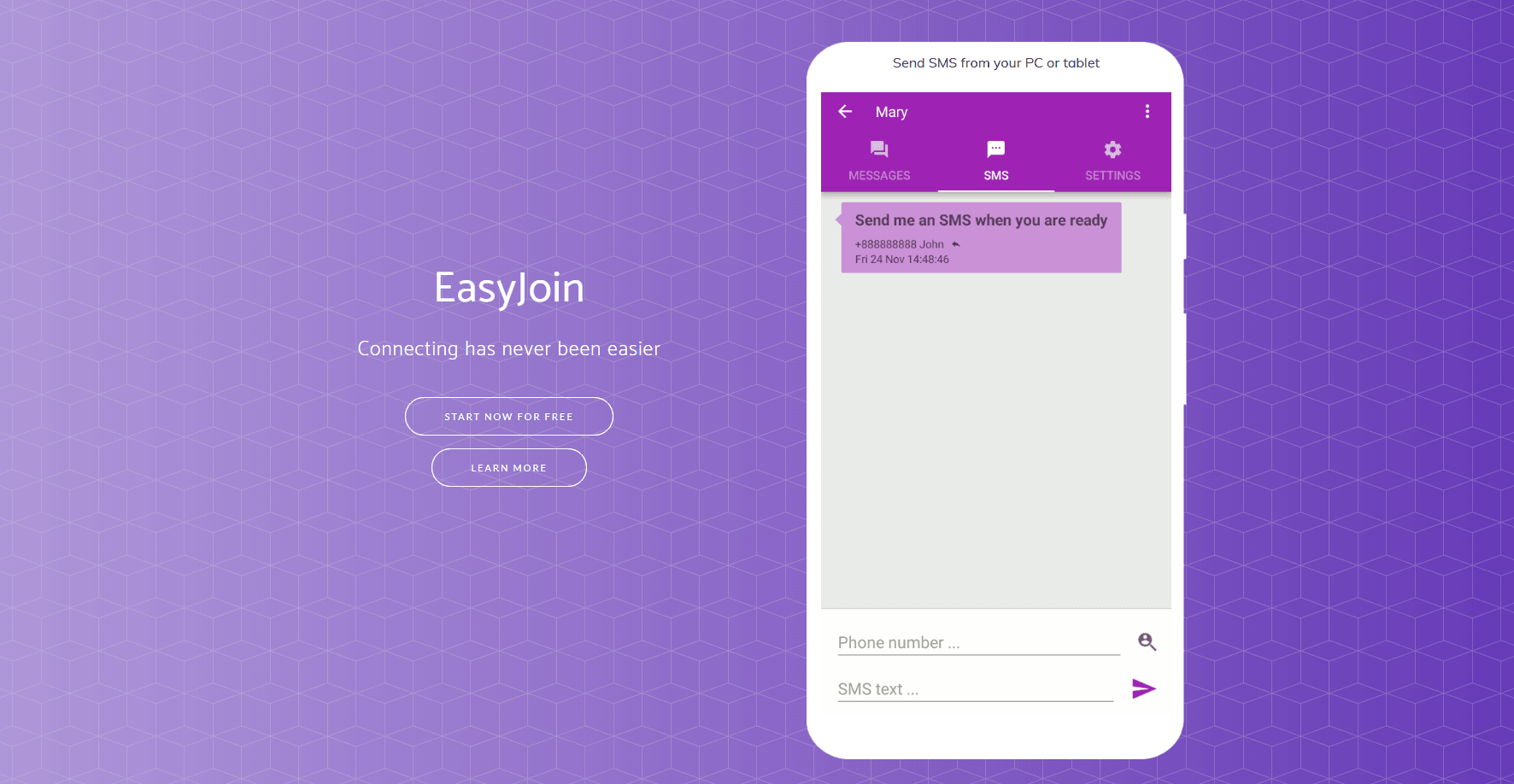 Szukasz narzędzia pozwalającego na synchronizację między smartfonem a innym urządzeniem? EasyJoin jest dla Ciebie! 20