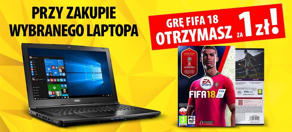 Tabletowo.pl Dorzucają do nowego laptopa grę FIFA 2018 za 1 zł. To chyba dobrze? Gry Promocje Samsung Sprzęt