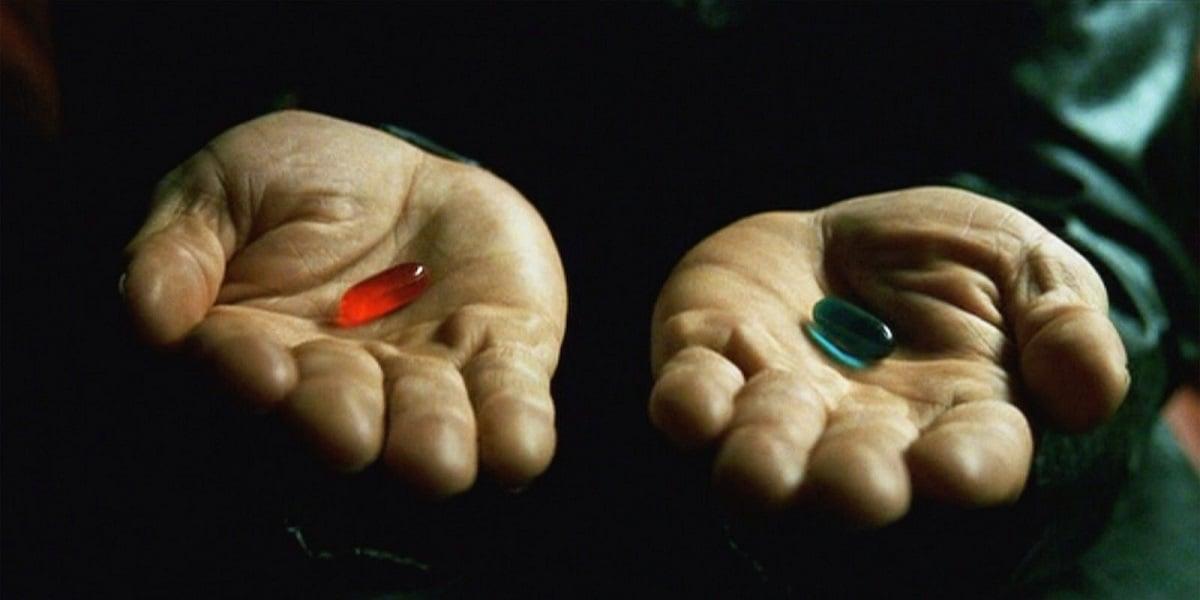 Japończycy chcą stworzyć coś na kształt Matrixa. Którą pigułkę byś wybrał? 21