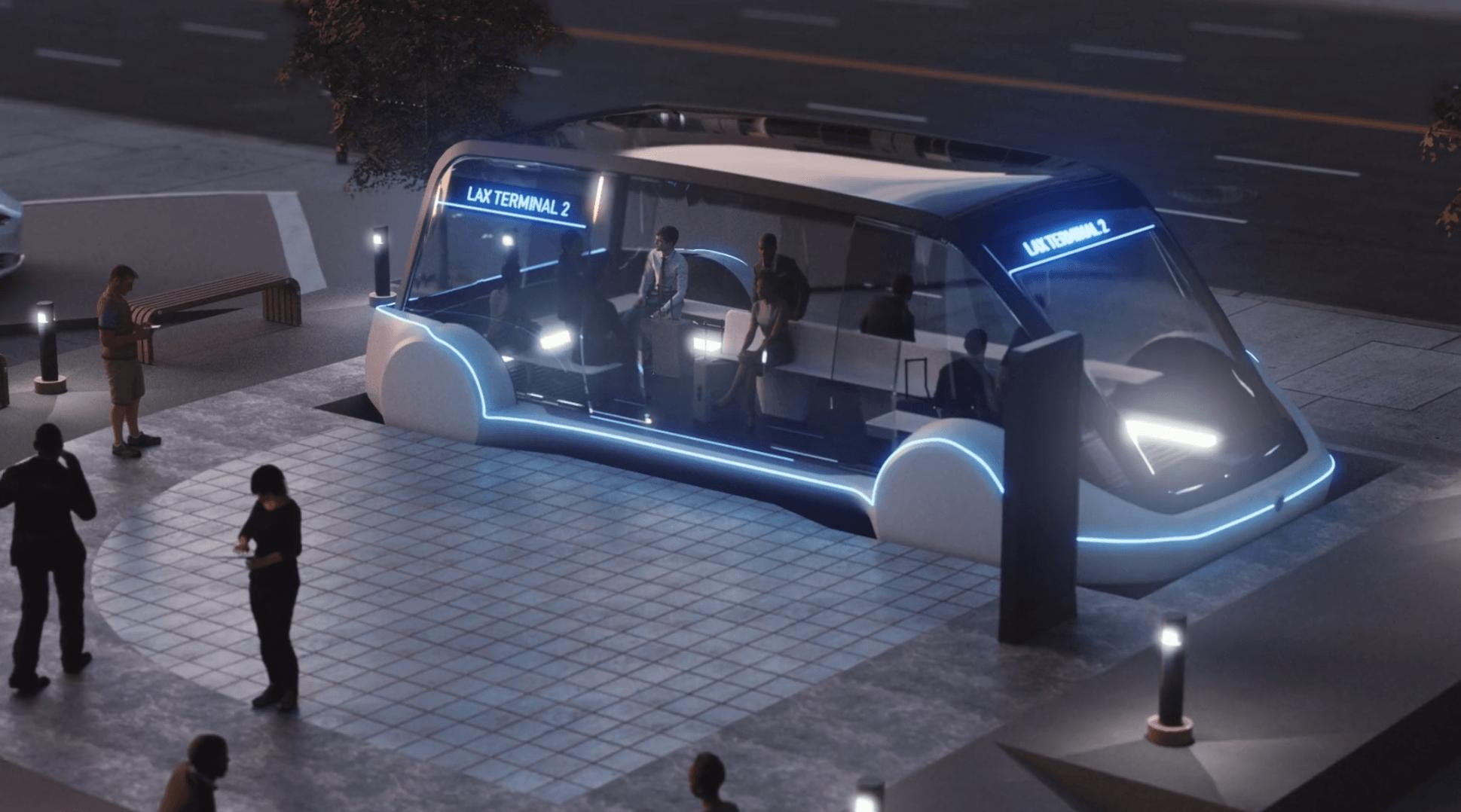 Z centrum miasta na lotnisko za 1 dolara. Elon Musk obiecuje szybkie podróże tunelami pod Los Angeles 21