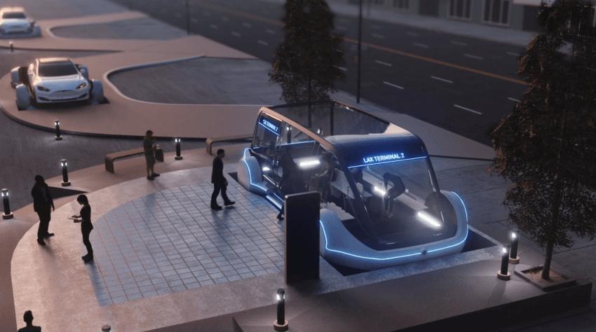 Tabletowo.pl Z centrum miasta na lotnisko za 1 dolara. Elon Musk obiecuje szybkie podróże tunelami pod Los Angeles Ciekawostki Technologie