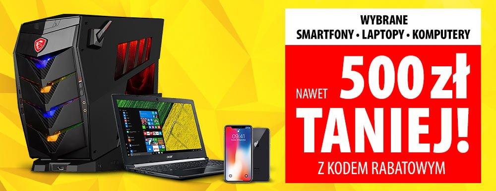 Tabletowo.pl A może warto byłoby kupić jakąś elektronikę w ten weekend? W Media Expert wybrane smartfony, laptopy i komputery do 500 zł taniej Promocje Smartfony
