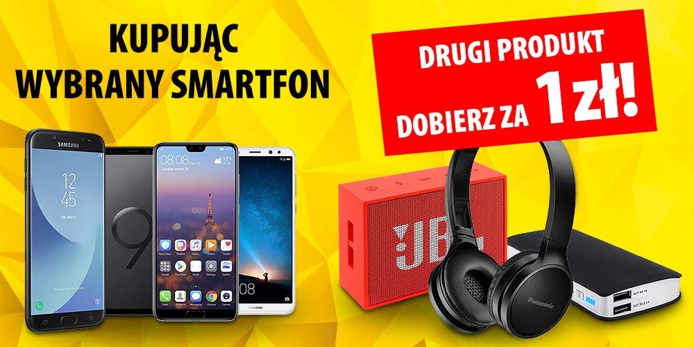 Tabletowo.pl Promocja w Media Expert: przy zakupie smartfona dostaniesz gadżet za złotówkę Promocje Smartfony