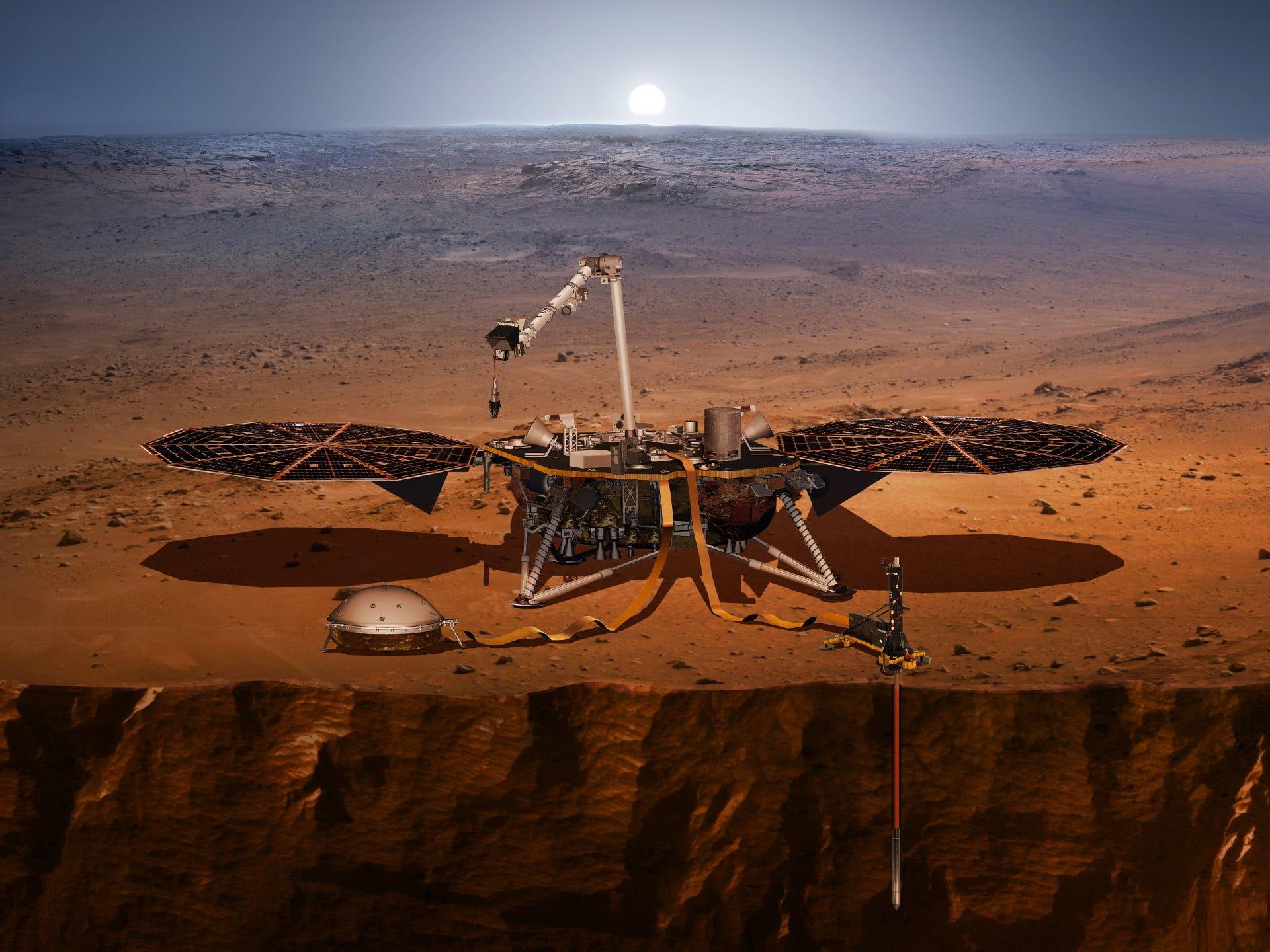 Tabletowo.pl MiniNauka #15: NASA InSight - kolejny lądownik rusza na Marsa Ciekawostki Cykle Felietony