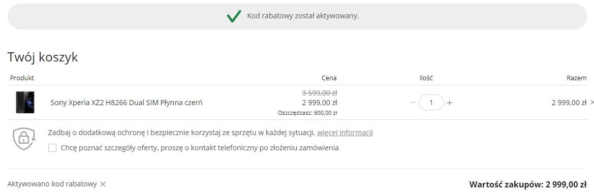 Tabletowo.pl Fenomenalna promocja: Sony Xperia XZ2 o 600 złotych taniej! W dodatku z Polski i bez żadnych haczyków Android Producenci Promocje Smartfony Sony Sprzęt