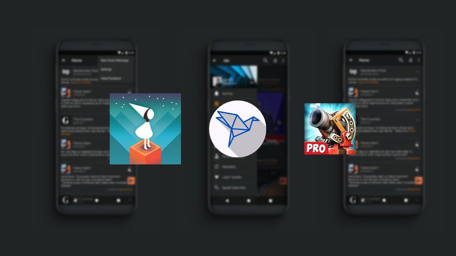 Tabletowo.pl Promocja: Klient Twittera, kilka gier oraz wiele paczek ikon do wyrwania za darmo! Android Aplikacje Oprogramowanie Promocje