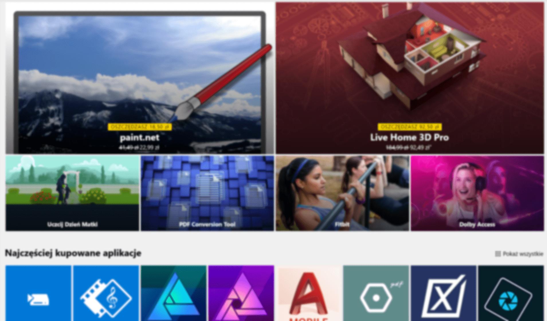 Tabletowo.pl Sprzedaż aplikacji w Windows Store będzie teraz bardziej opłacalna dla deweloperów niż w Google Play czy App Store Aplikacje Microsoft