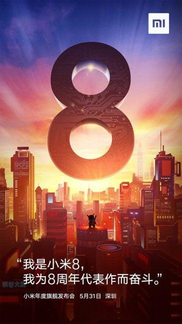 Tabletowo.pl Zapiszcie tę datę. 31 maja odbędzie się premiera Xiaomi Mi 8. [AKTUALIZACJA] Wyciekły też ceny! Smartfony Xiaomi Zapowiedzi