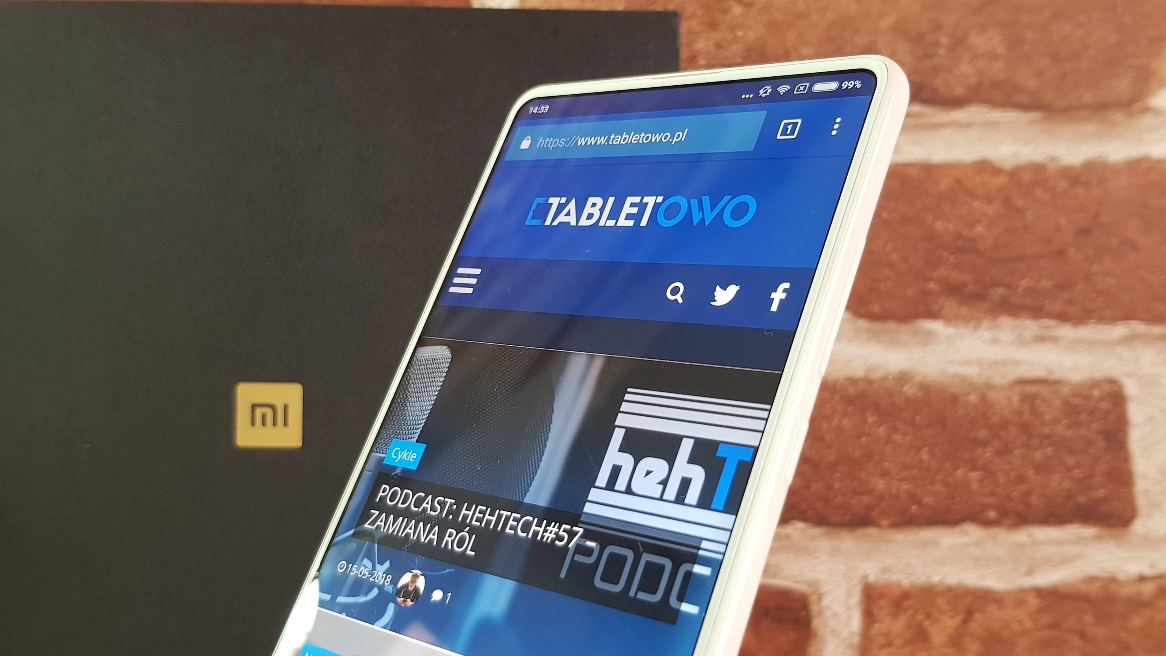Tabletowo Tak będzie wyglądał Xiaomi Mi Mix 3 producent właśnie opublikował zdjęcie tego
