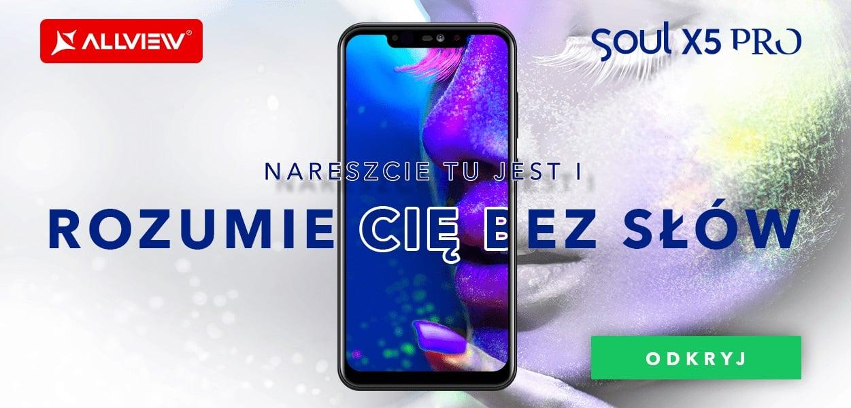 Tabletowo.pl Zadebiutował Allview Soul X5 Pro. Jest zaskakująco tani, jak na flagowca, a oferuje wiele ciekawego Allview Android Nowości Smartfony