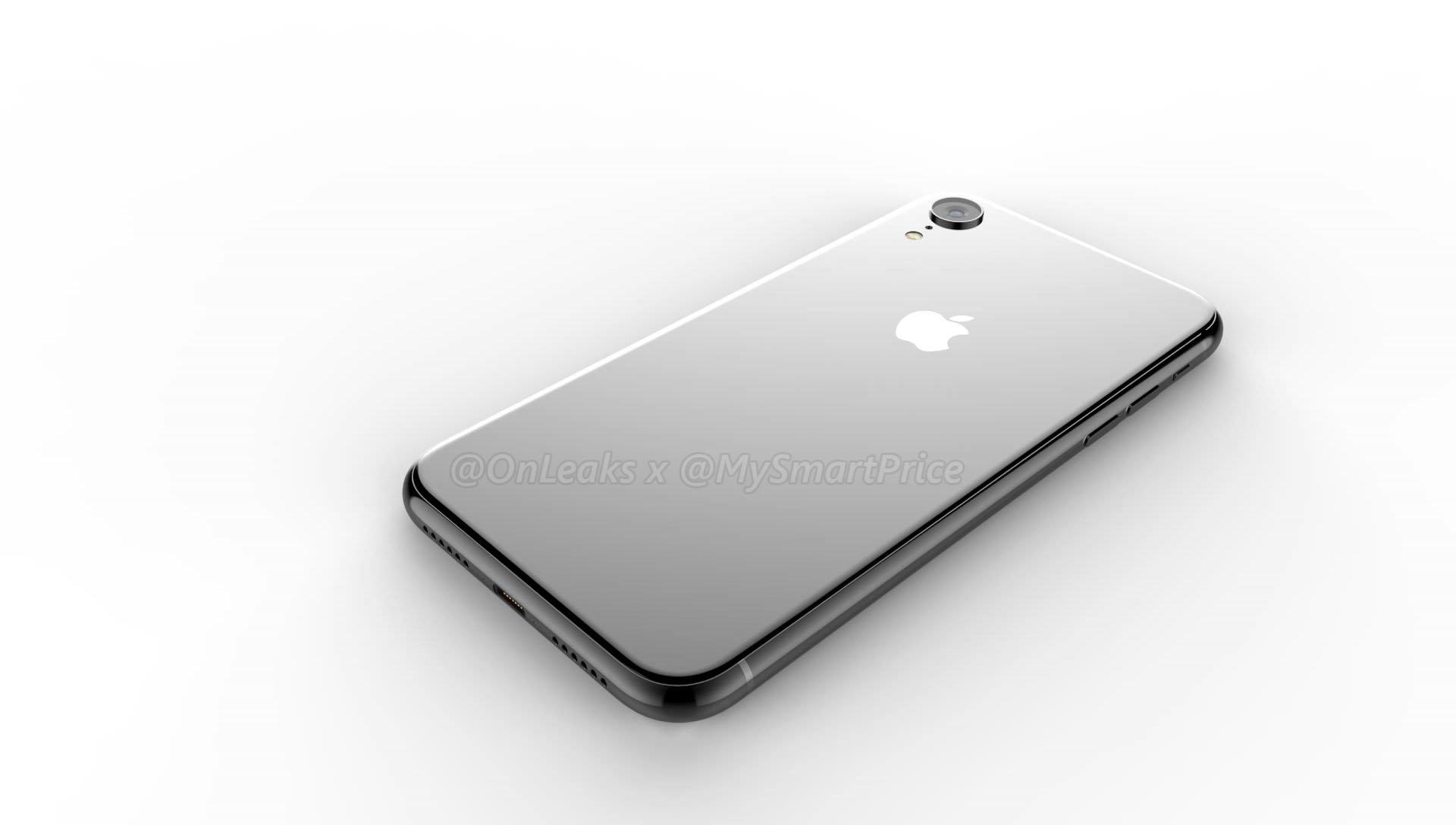 Jak wygląda front nowych iPhone'ów? Cóż - szkło i wycięcia w ekranie. Ramki w wersji 6.1 cala nie należą do najcieńszych 27
