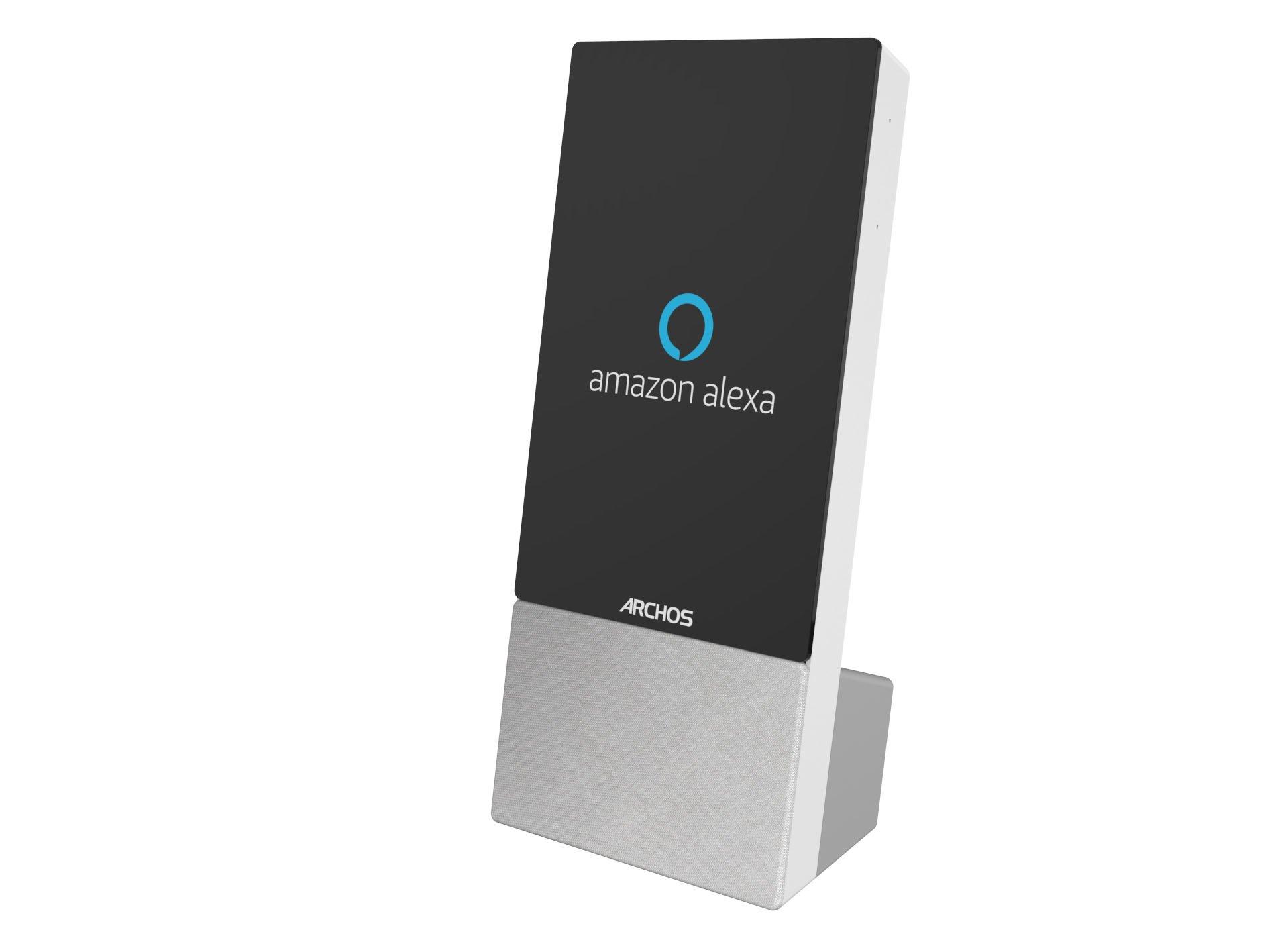"""Tabletowo.pl Archos Mate - inteligentny głośnik z ekranem (5"""" lub 7"""") i Alexą na pokładzie Archos Nowości Smart Home"""