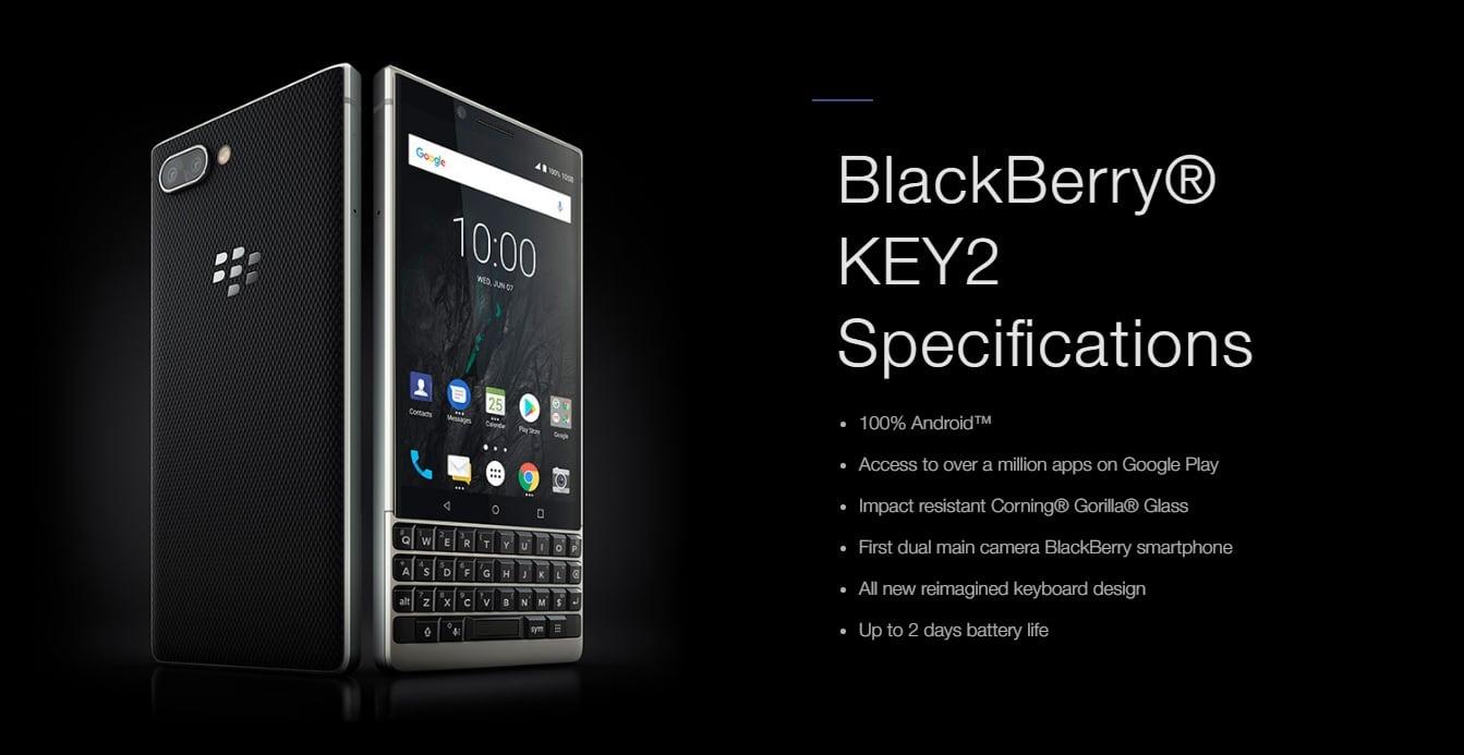 Tabletowo.pl Wiemy, kiedy BlackBerry KEY2 trafi do sprzedaży w Polsce i ile będzie kosztował Android BlackBerry Plotki / Przecieki Smartfony