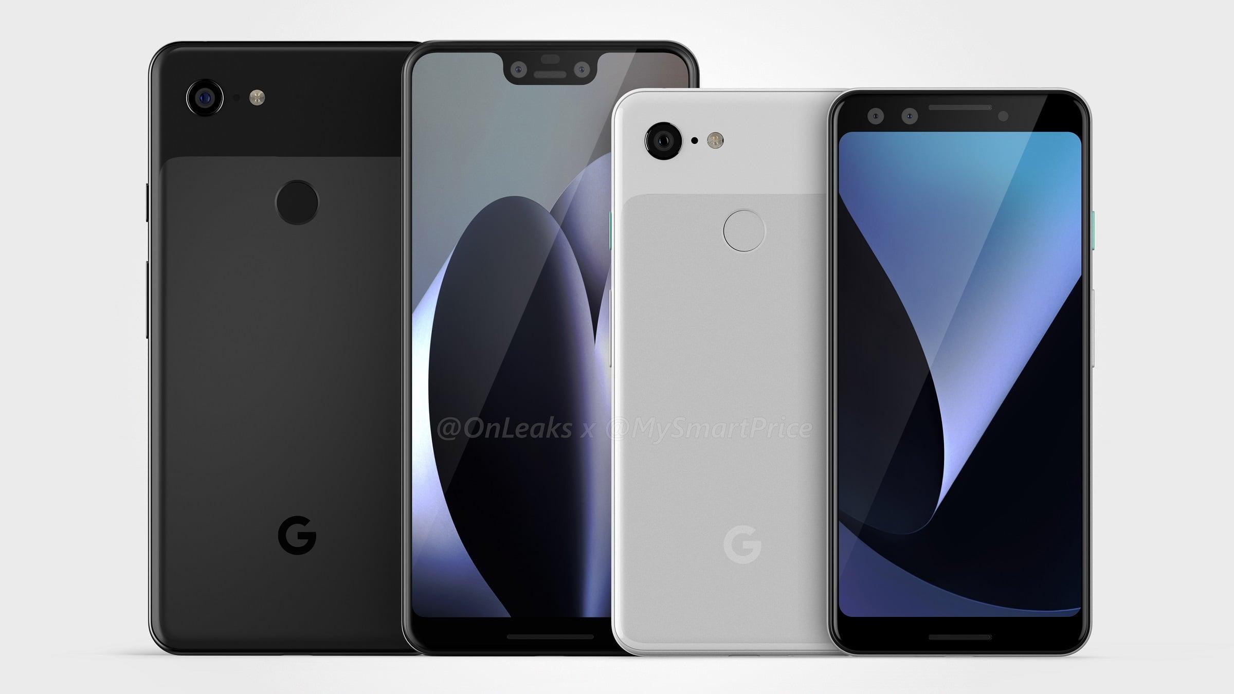 Google Pixel 3 i Google Pixel 3 XL na renderach - piękna i bestia? 15