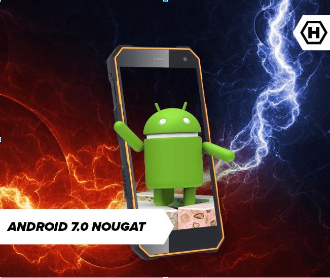 Lepiej późno niż wcale: HAMMER Energy otrzymuje aktualizację do... Androida 7.0 Nougat 17