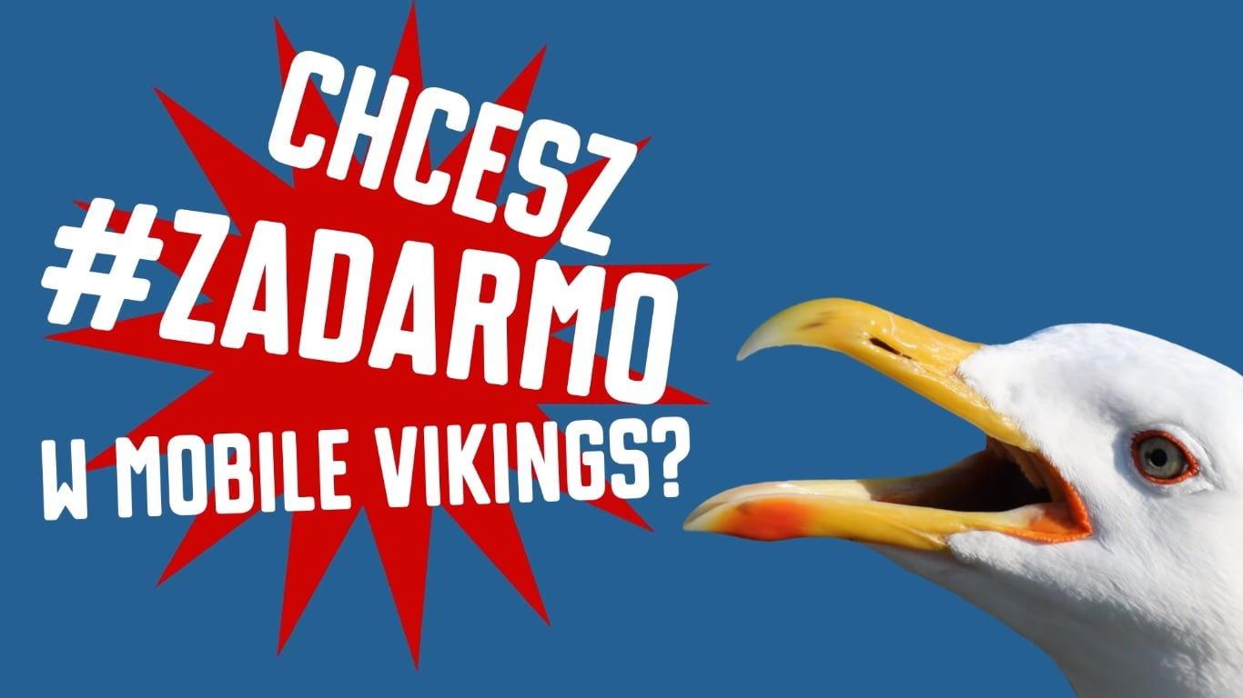 Miodzio oferta: jeśli trochę się postarasz, to w Mobile Vikings możesz mieć za darmo no limit i 15 GB internetu 24