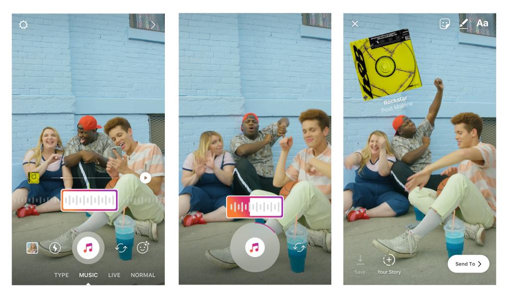 Tabletowo.pl Dodawanie ścieżki dźwiękowej do Stories to prawdziwa żyła złota - swój pierwszy teledysk zrobisz na Instagramie Aktualizacje Aplikacje Facebook