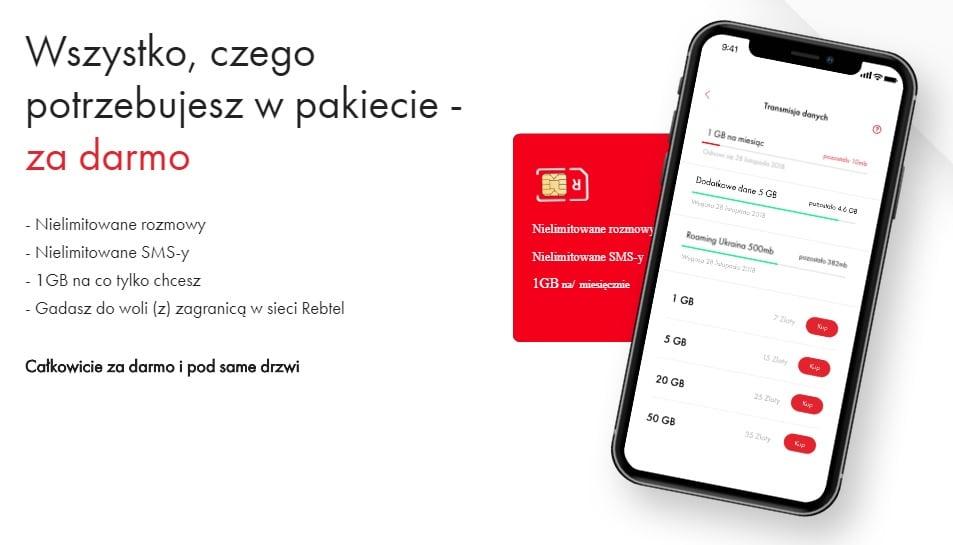 Tabletowo.pl Przepis na sukces czy czyste szaleństwo? Rebtel daje za darmo nielimitowane rozmowy, SMS-y i 1 GB internetu GSM Nowości