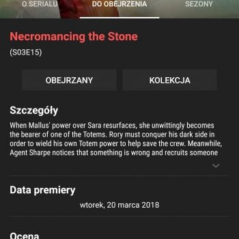 Tabletowo.pl Traktin - test i recenzja prostego terminarza seriali prosto z XDA Labs Android Prześwietlenie Aplikacji Recenzje Aplikacji/Gier