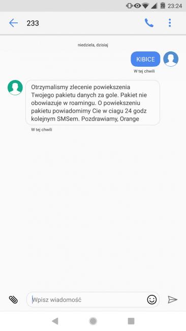 Tabletowo.pl Straciliśmy trzy bramki, więc... Orange daje 3 GB dodatkowego transferu danych GSM Promocje