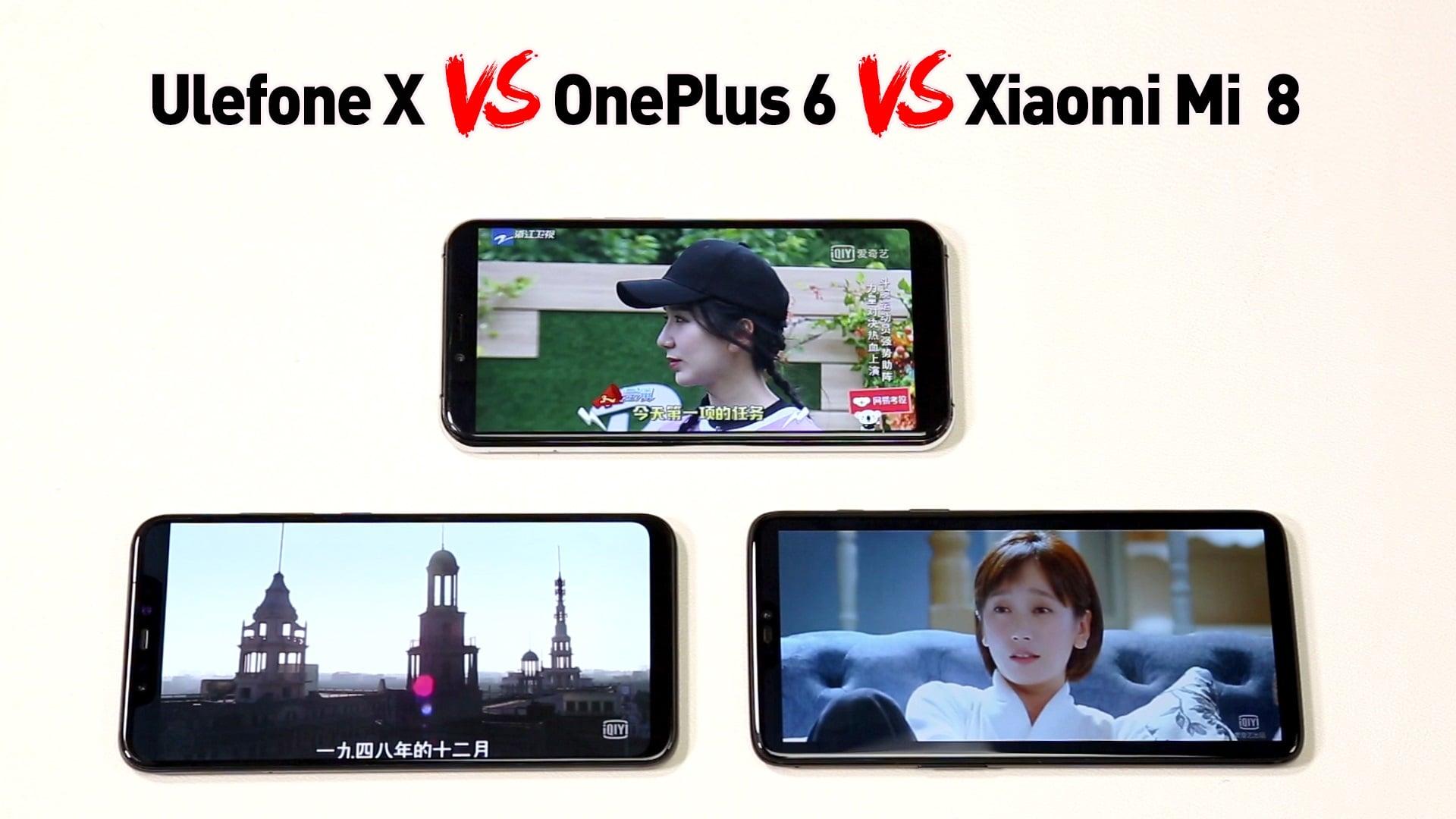Odważnie: Ulefone X mierzy się z Xiaomi Mi 8 i OnePlus 6 27