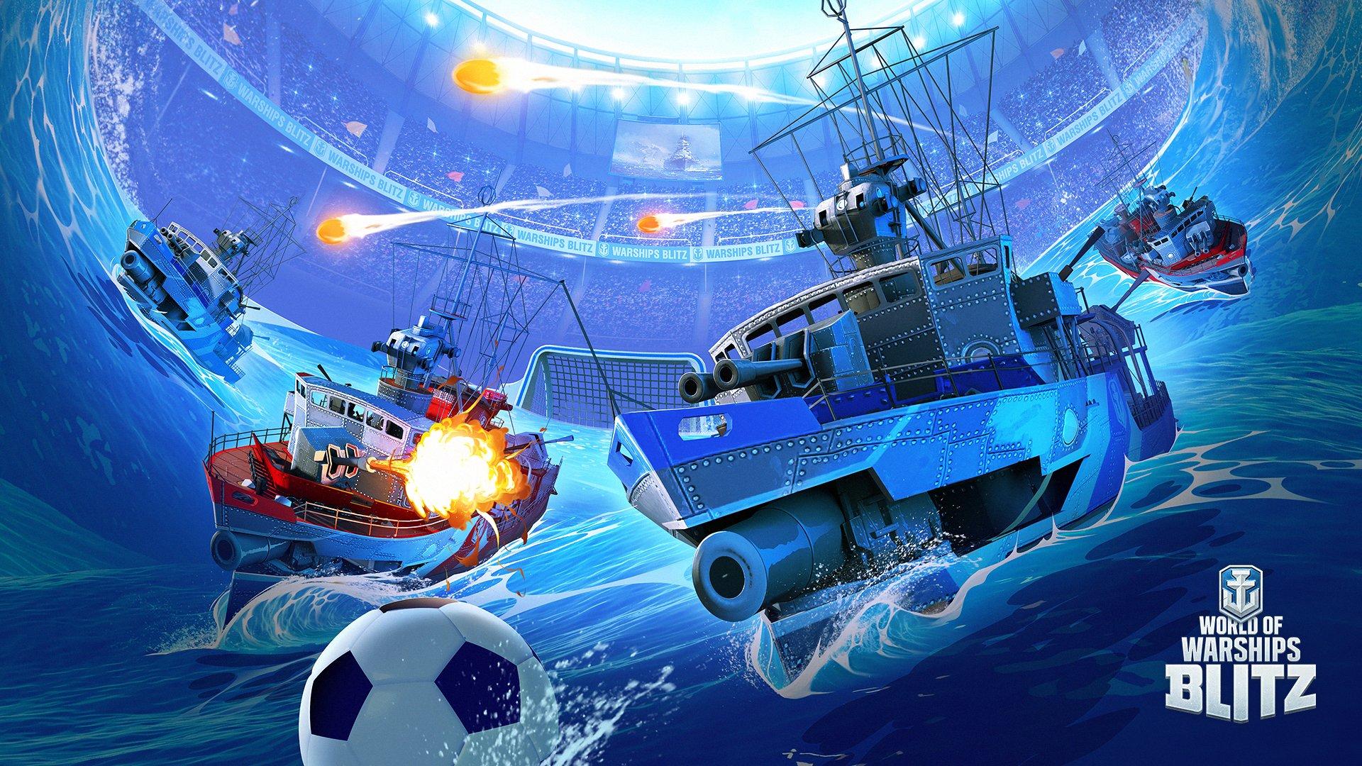 World of Warships Blitz – możesz zagrać w piłkę lepiej niż reprezentacja Polski czy Niemiec 32
