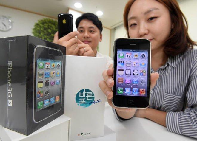 Tabletowo.pl iPhone 3GS w tym miesiącu wróci do sklepów. Co prawda na drugim końcu świata, ale jednak Apple Ciekawostki iOS Smartfony