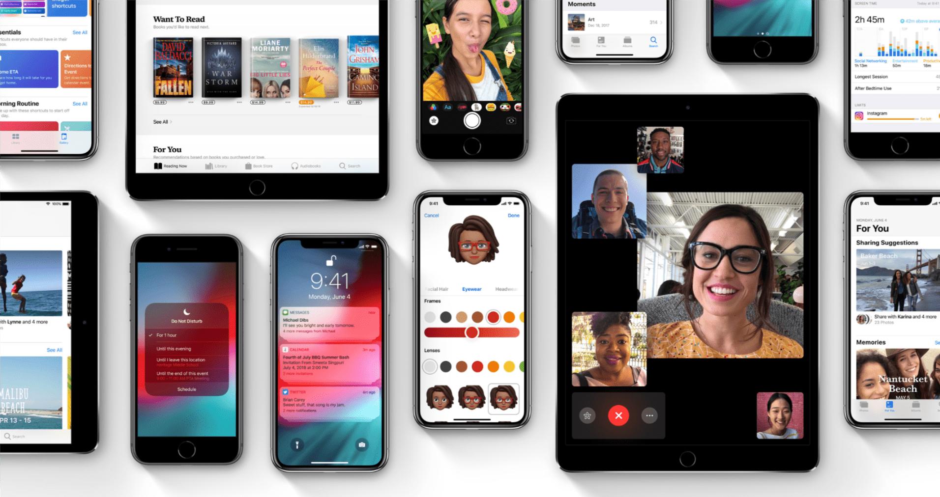 Tabletowo.pl Apple udostępniło aktualizację do iOS 12.1 – co nowego? Aktualizacje Apple iOS Smartfony Tablety