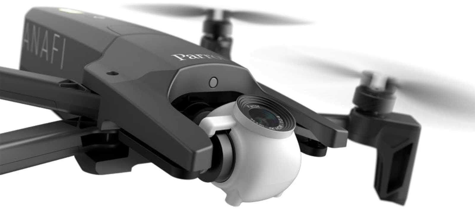 ANAFI - nowy dron od Parrot z kręceniem wideo w 4K 28