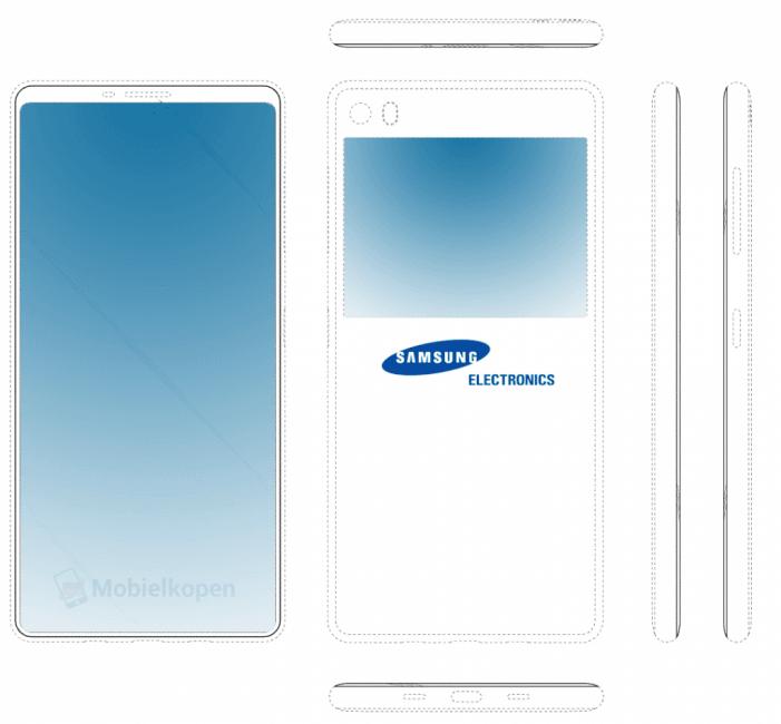"""""""Dwustronna"""" przyszłość Samsungów może być ciekawa. Patenty zdradzają chęć pójścia inną ścieżką niż Apple 18"""