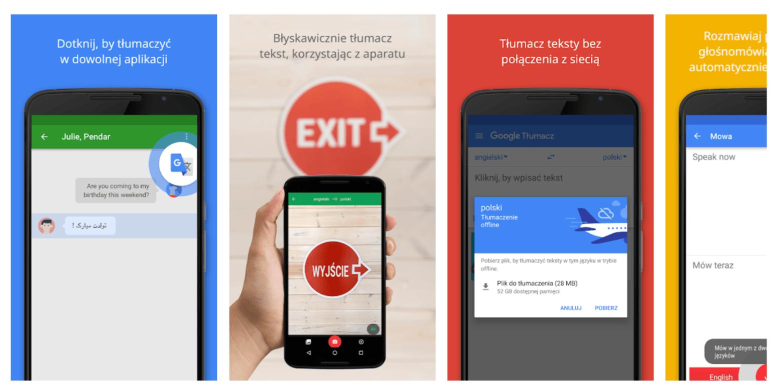 Sztuczna inteligencja pomoże w tłumaczeniu tekstu offline w Tłumaczu Google na Androida i iOS 27