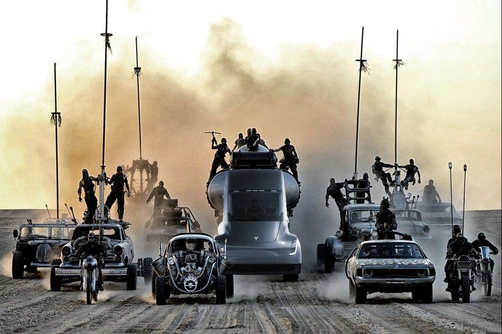 """Elon Musk dodaje tryb """"Mad Max"""" do autopilota w ciężarówce Tesla Semi. Nie wiem, czy to dobrze 25"""