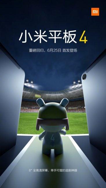 Nareszcie - zapowiedziano premierę tabletu od Xiaomi. Mi Pad 4 zadebiutuje 25 czerwca 21