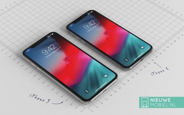 """Do września daleko, ale przynajmniej możemy obejrzeć sobie rendery iPhone'a 9 z ekranem 6.1"""" LCD 25"""