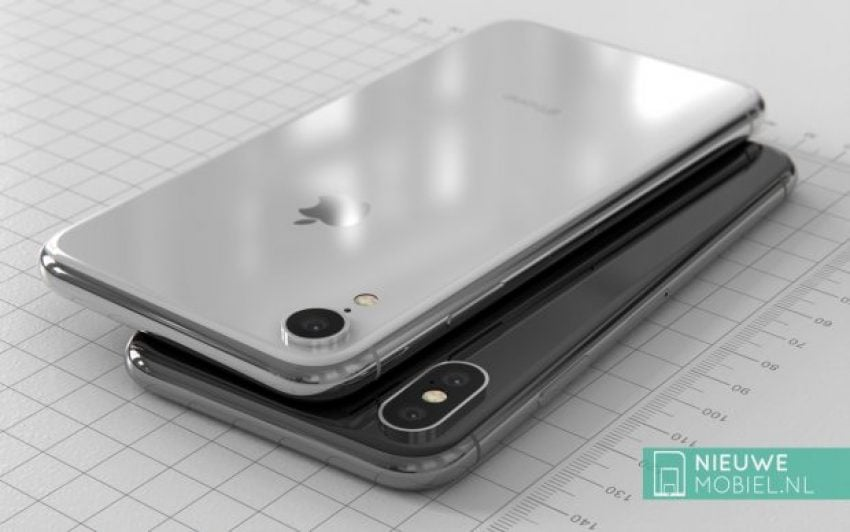"""Tabletowo.pl Do września daleko, ale przynajmniej możemy obejrzeć sobie rendery iPhone'a 9 z ekranem 6.1"""" LCD Apple iOS Plotki / Przecieki Smartfony"""