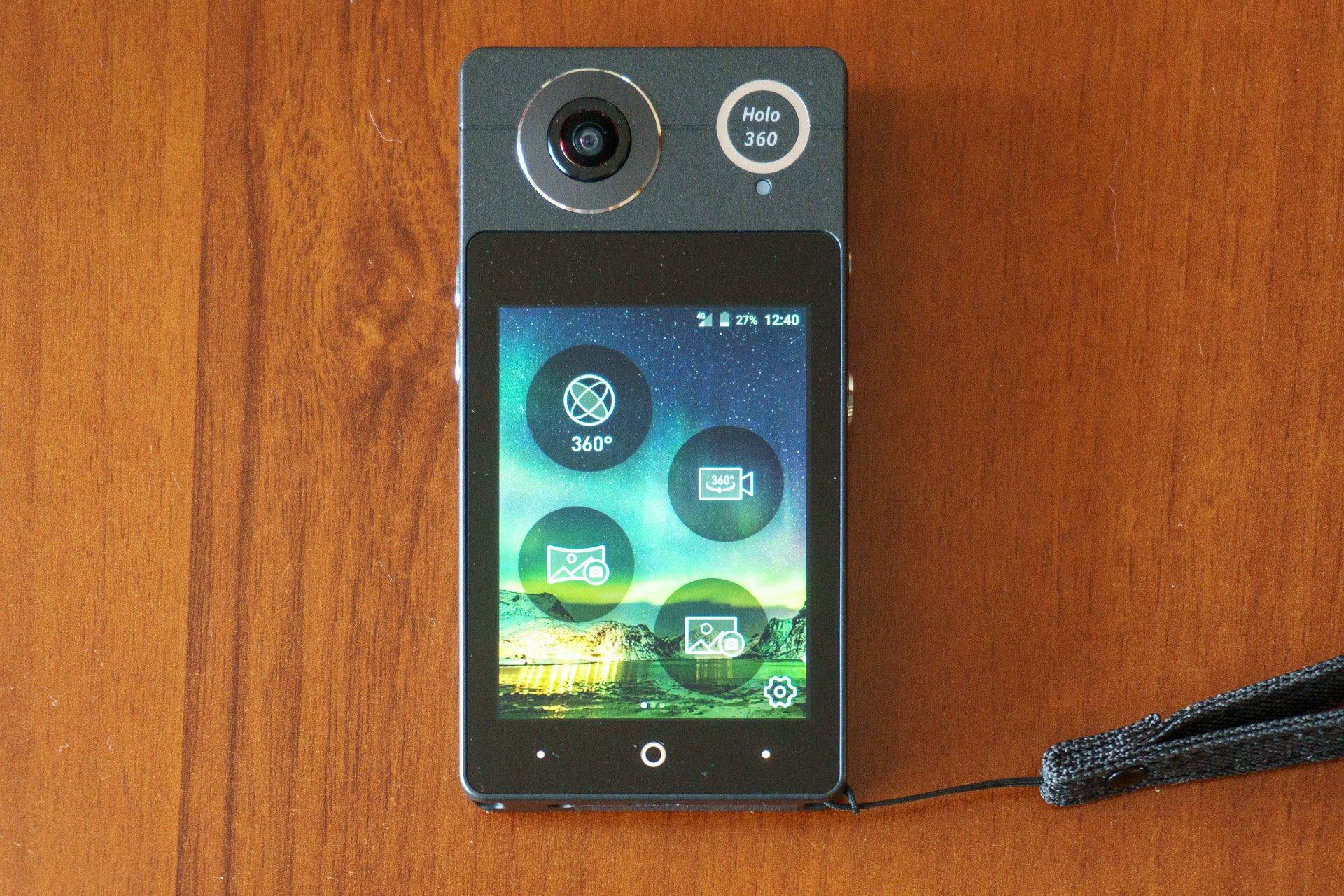 Tabletowo.pl Recenzja Acer Holo360 - kamera sferyczna i smartfon w jednym Acer Android Producenci Recenzje Smartfony