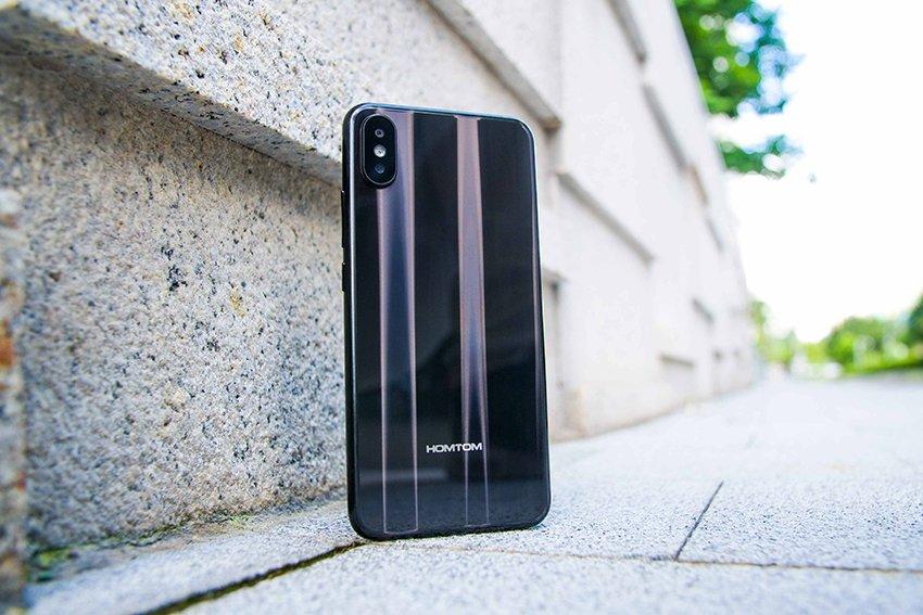 Tabletowo.pl Chińskich klonów iPhone'a X nigdy za mało na rynku - nadchodzi kolejny, HOMTOM H10 Android Chińskie Smartfony