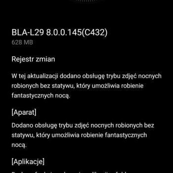 """Tabletowo.pl Już nie tylko P20 i P20 Pro potrafią robić świetne zdjęcia w nocy """"z ręki"""". Od teraz umie to też Mate 10 Pro Aktualizacje Android Huawei Smartfony"""