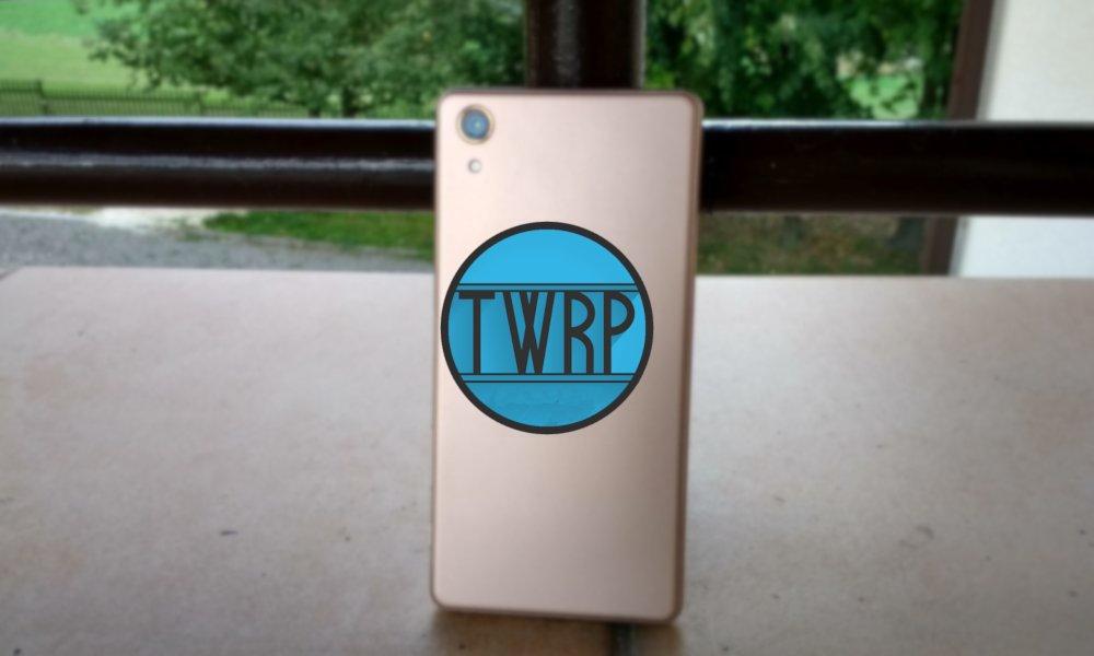 TWRP oficjalnie dostępne już na Sony Xperia X, Moto E4 i kilka innych modeli 20