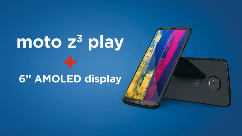 Szalona promocja w Play! Motorola Z3 Play taniej o 700 zł, a do tego aż 3 Moto Modsy gratis!