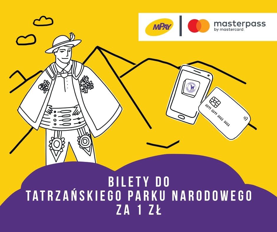 Tabletowo.pl Jak kupić bilet do Tatrzańskiego Parku Narodowego za złotówkę? Wystarczy użyć aplikacji mPay Aplikacje Promocje