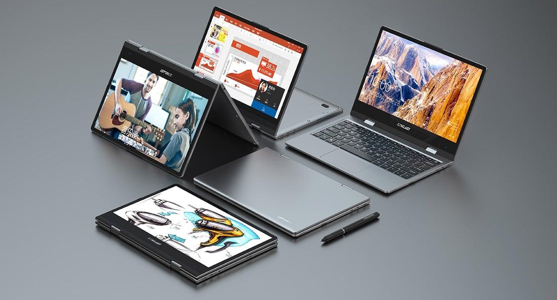 Teclast zaprezentował laptop konwertowalny Teclast F5 360 z procesorem Intel Celeron N4100, 8 GB RAM i dyskiem SSD 128 GB 19